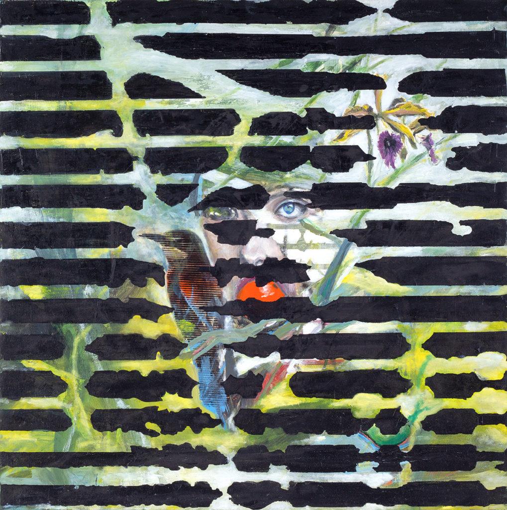 Fragmente – 70 x 70 cm – Oil on canvas – 2019