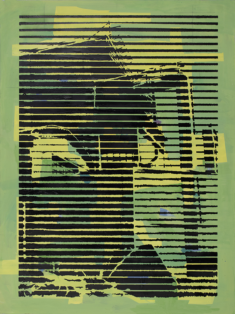 Factory With Yellow – 70 x 50 cm – 2021