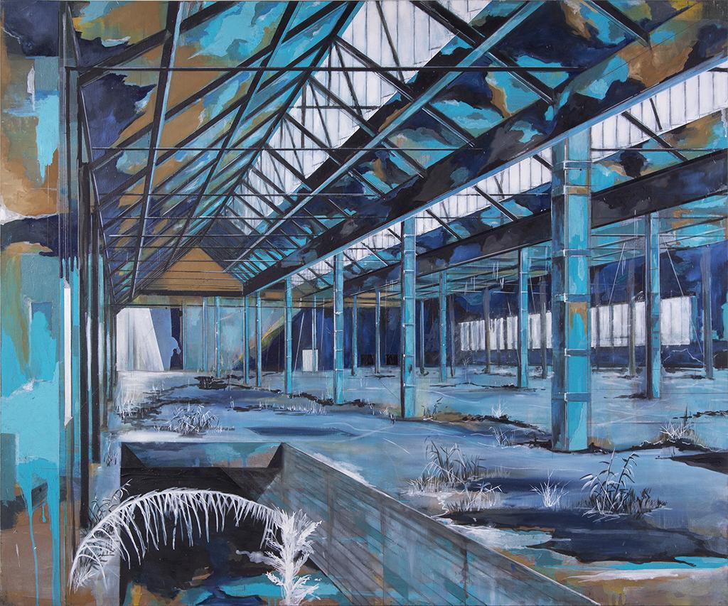 Vorhalle – 100 x 120 cm – Oil on canvas – 2008
